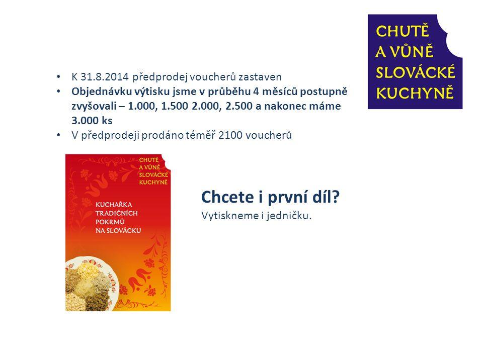K 31.8.2014 předprodej voucherů zastaven
