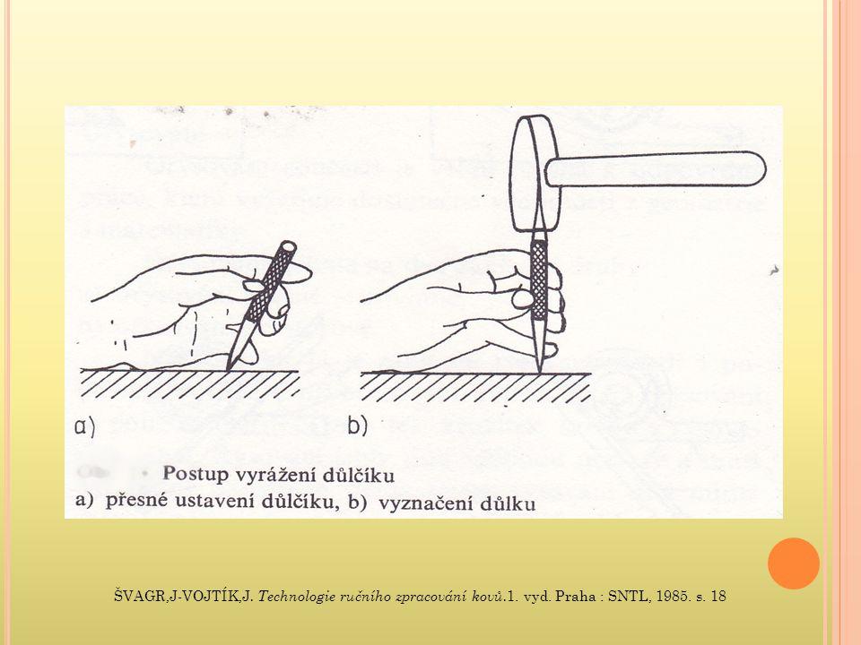 ŠVAGR,J-VOJTÍK,J. Technologie ručního zpracování kovů. 1. vyd