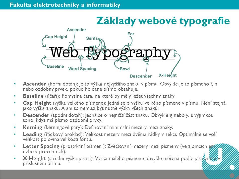 Základy webové typografie