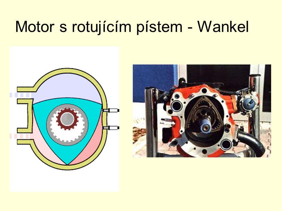 Motor s rotujícím pístem - Wankel