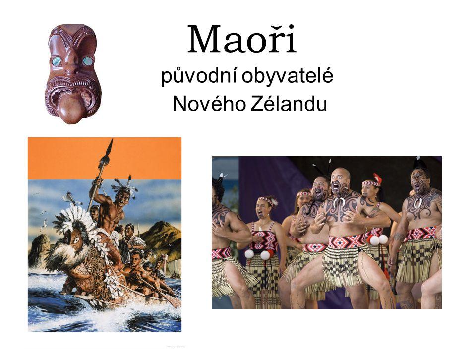 původní obyvatelé Nového Zélandu