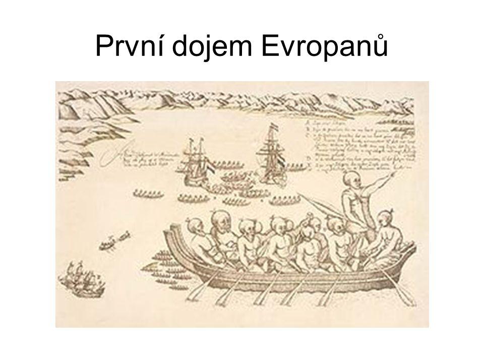 První dojem Evropanů