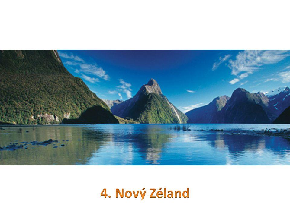 4. Nový Zéland