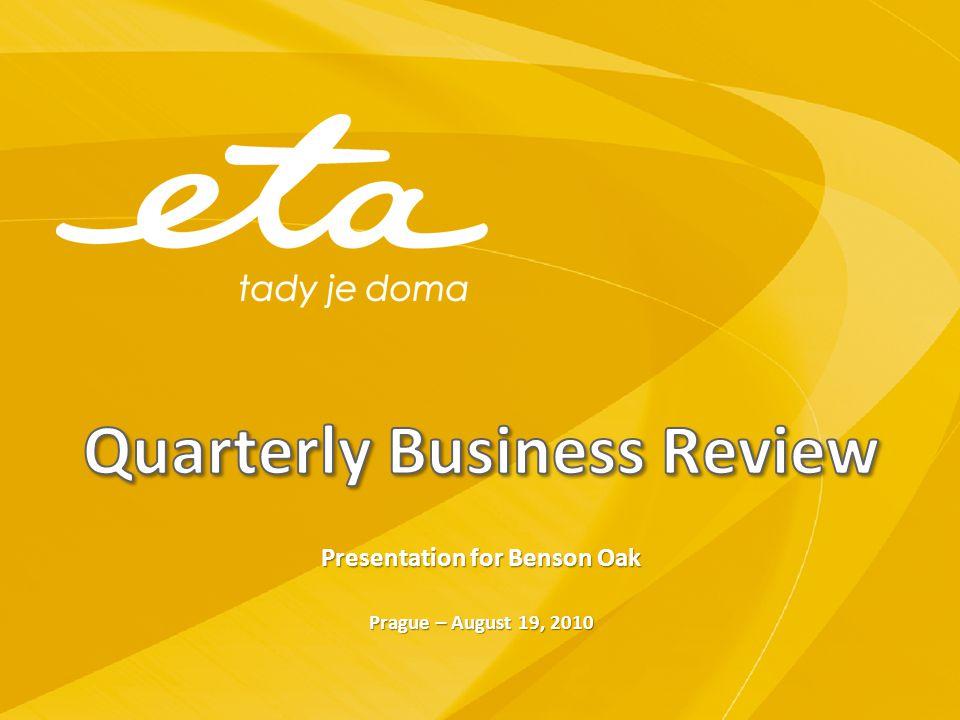 Quarterly Business Review