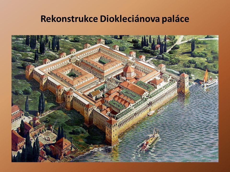 Rekonstrukce Diokleciánova paláce