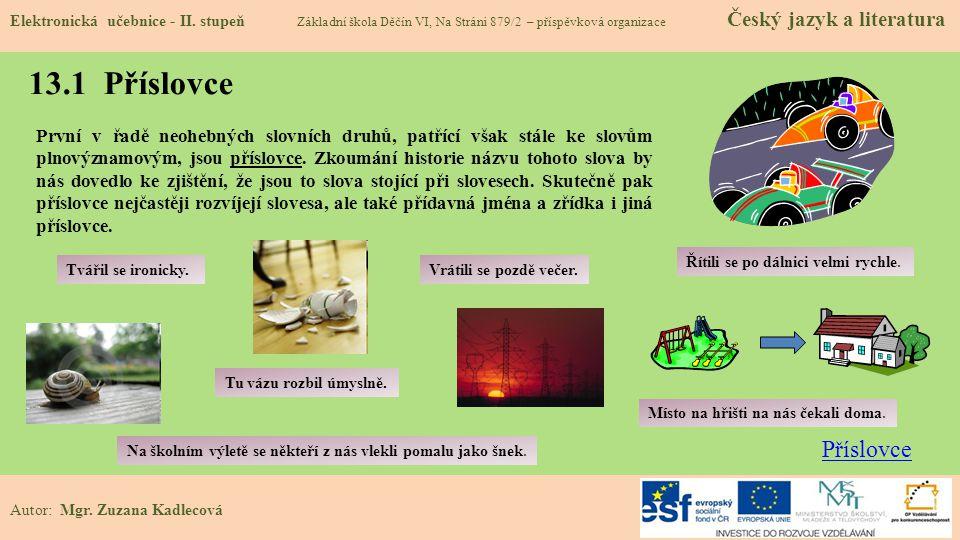Elektronická učebnice - II