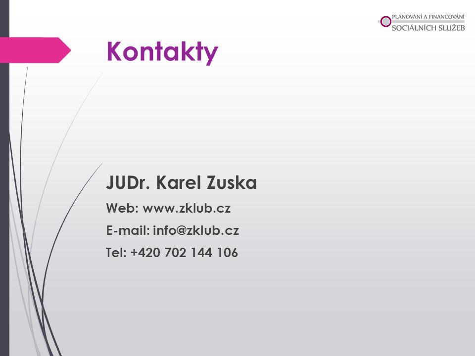 Kontakty JUDr. Karel Zuska