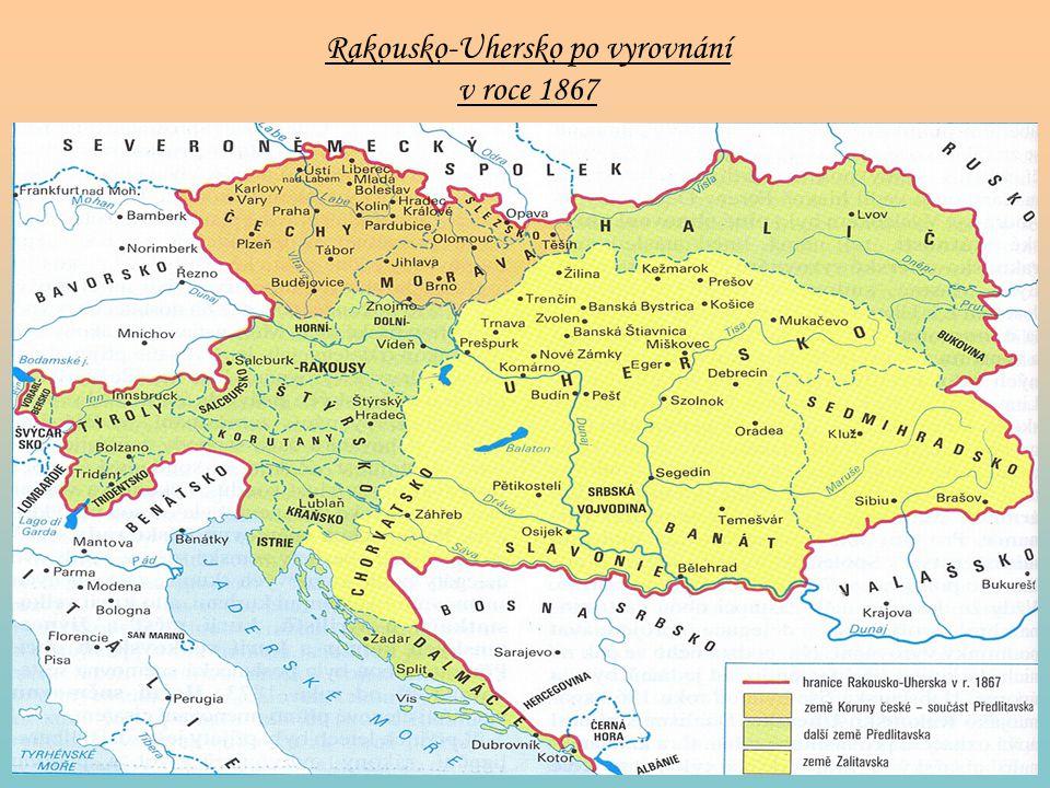 Rakousko-Uhersko po vyrovnání v roce 1867
