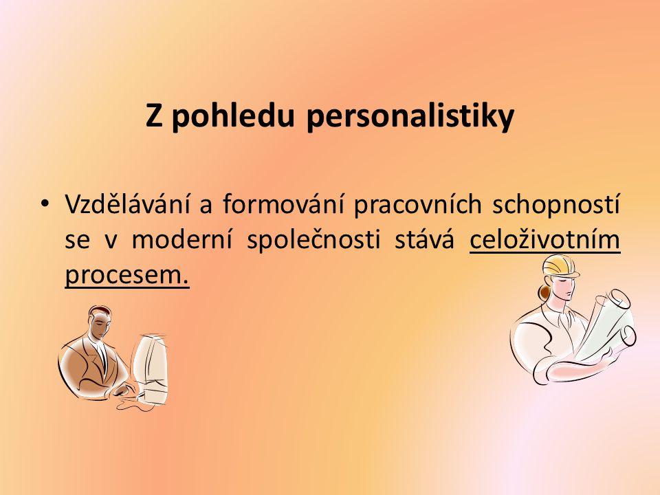 Z pohledu personalistiky