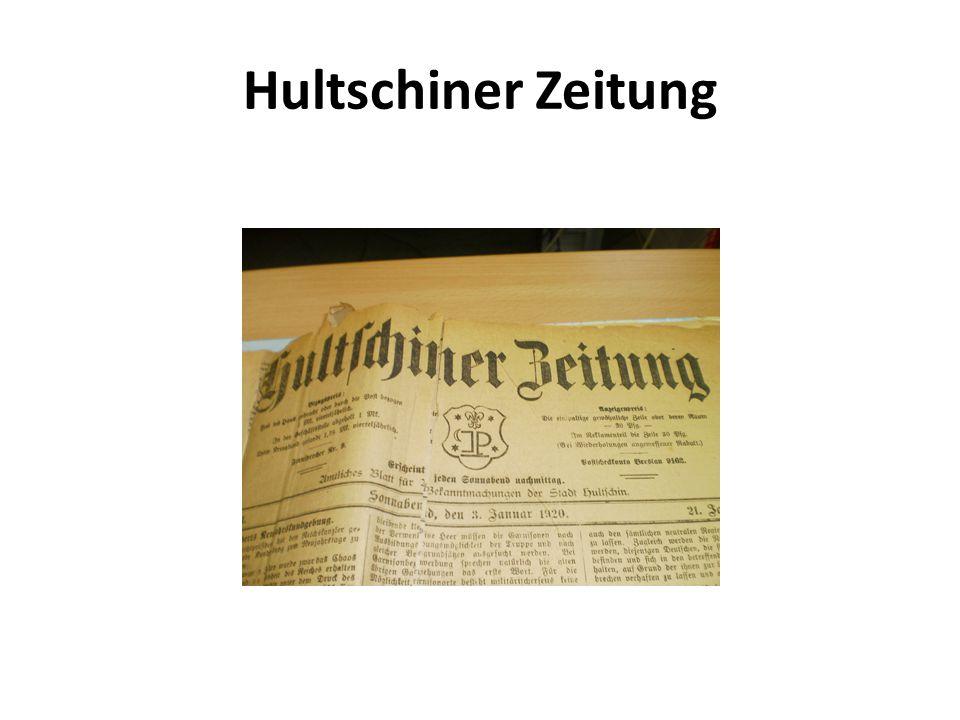 Hultschiner Zeitung