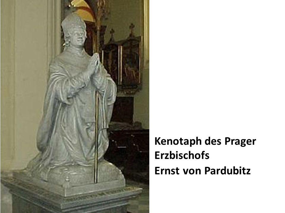 Kenotaph des Prager Erzbischofs Ernst von Pardubitz