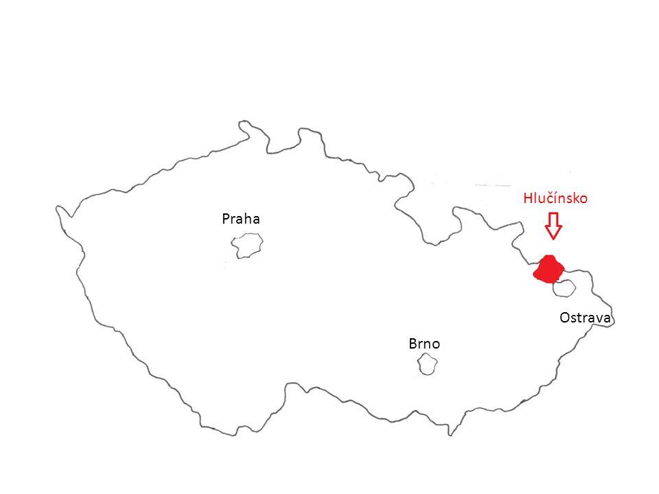 Hlučínsko Praha Ostrava Brno