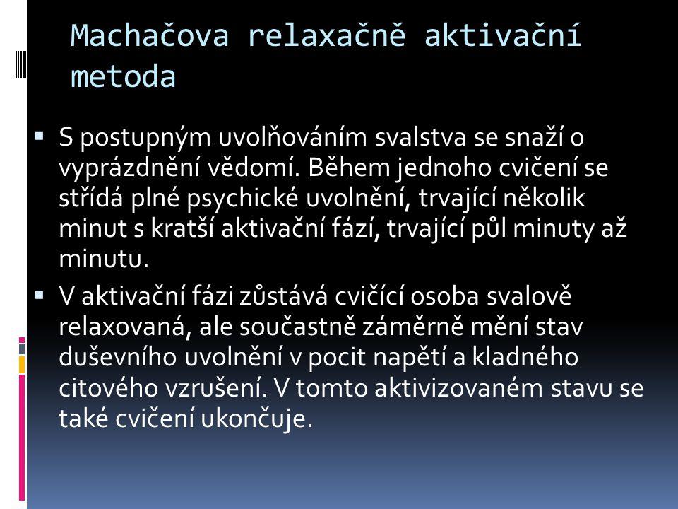 Machačova relaxačně aktivační metoda