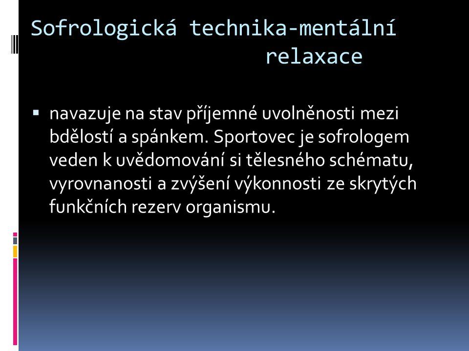Sofrologická technika-mentální relaxace