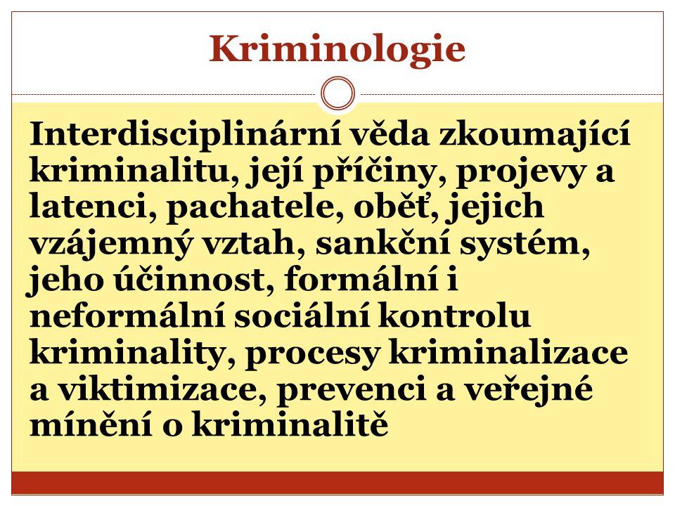 Kriminologie