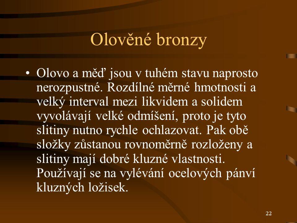 Olověné bronzy