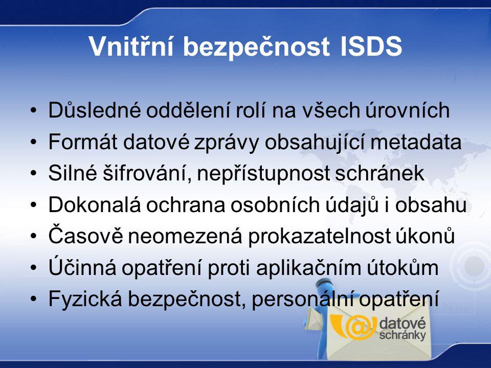 Vnitřní bezpečnost ISDS