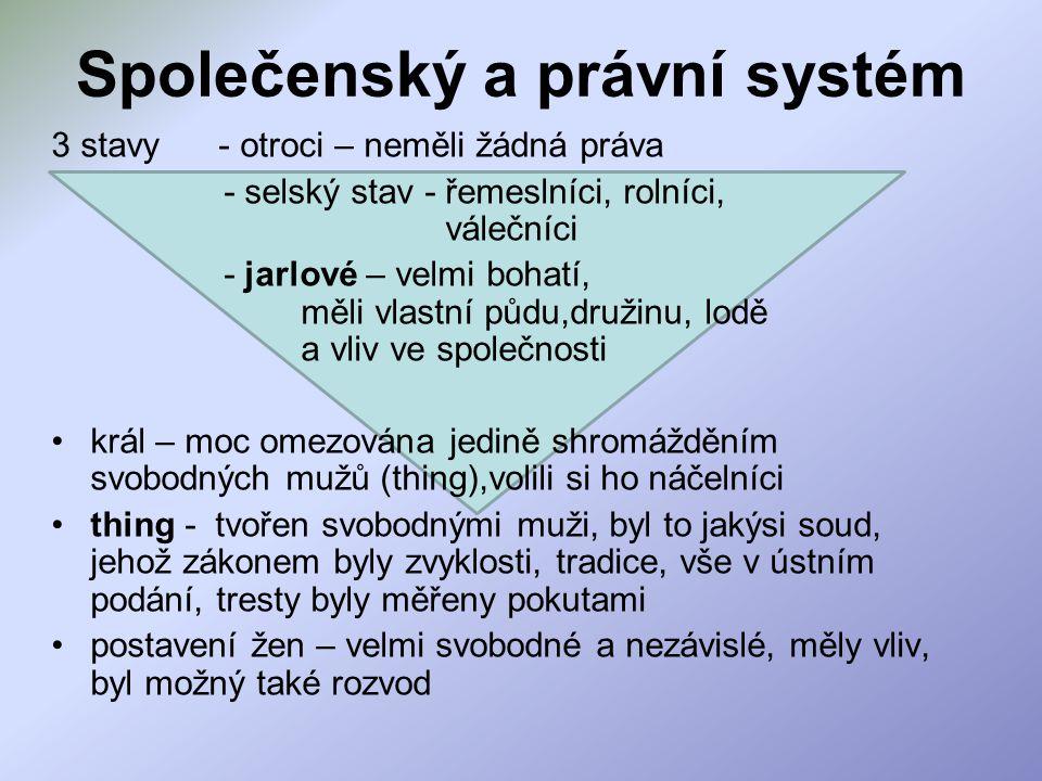 Společenský a právní systém