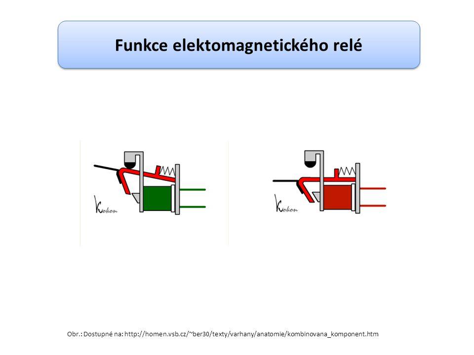 Funkce elektomagnetického relé