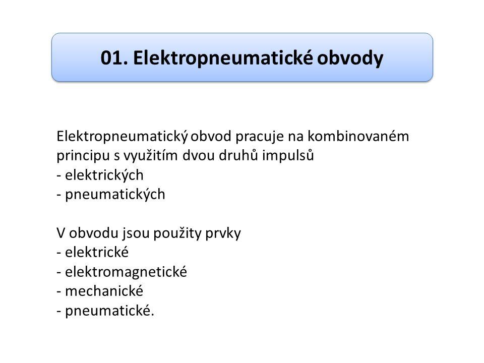 01. Elektropneumatické obvody
