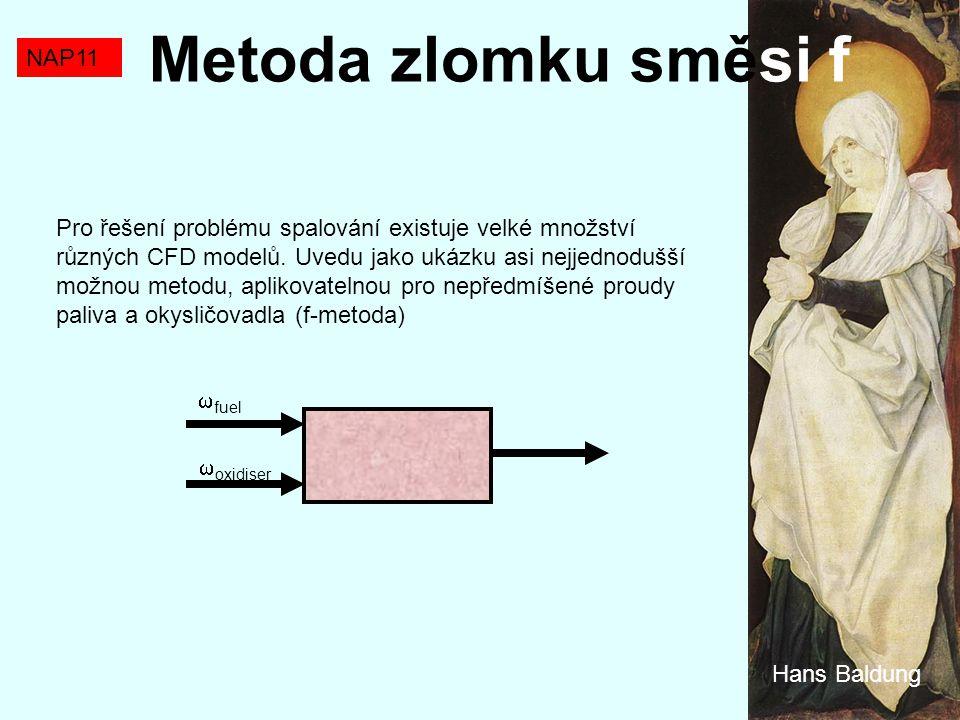 Metoda zlomku směsi f NAP11