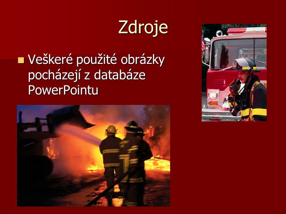 Zdroje Veškeré použité obrázky pocházejí z databáze PowerPointu.