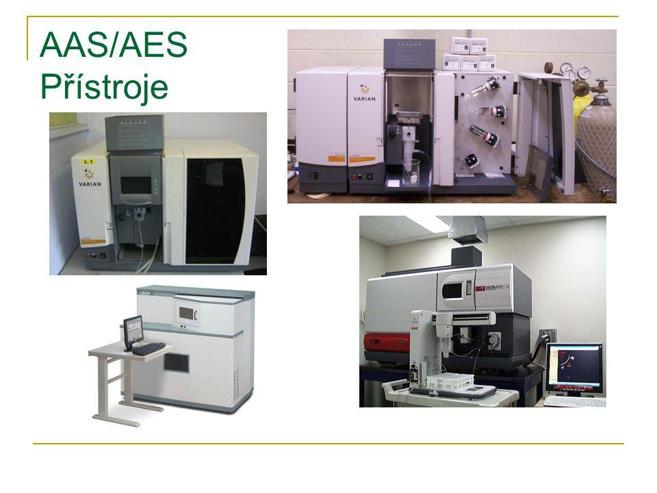 AAS/AES Přístroje