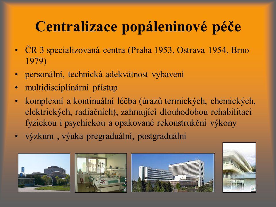 Centralizace popáleninové péče