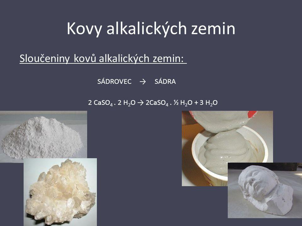 Kovy alkalických zemin