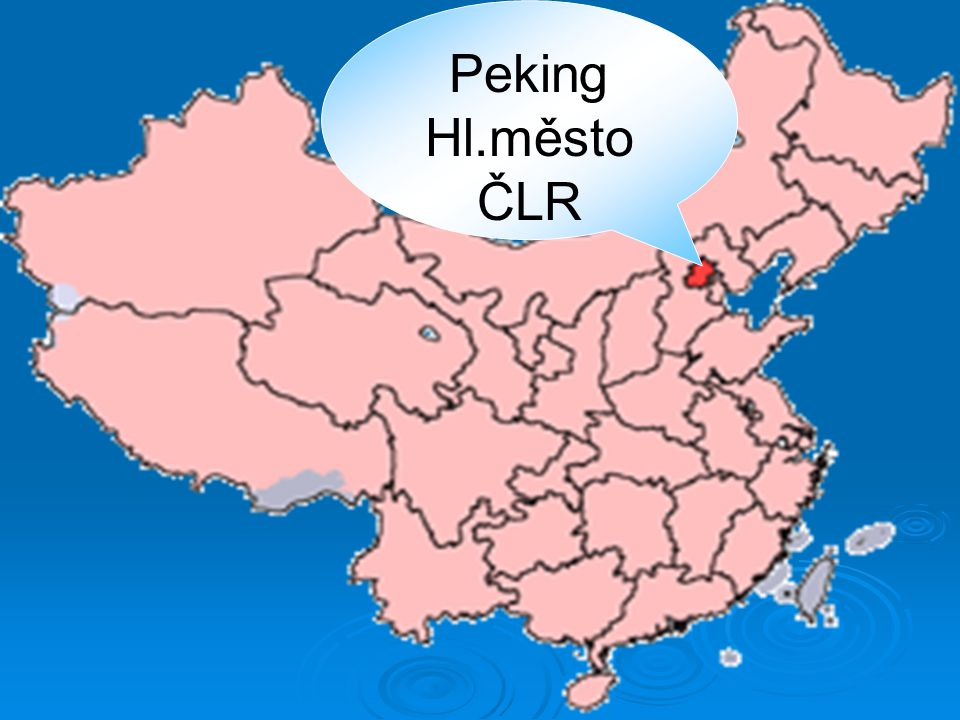 Peking Hl.město ČLR