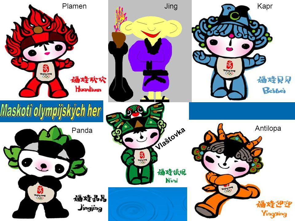 Maskoti olympijských her