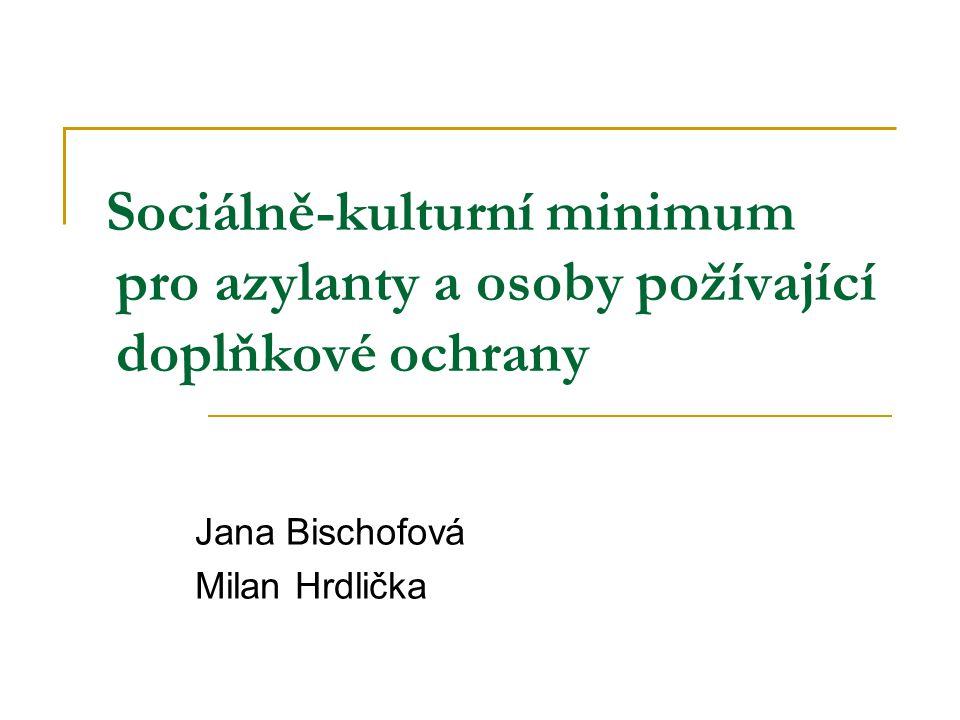 Jana Bischofová Milan Hrdlička