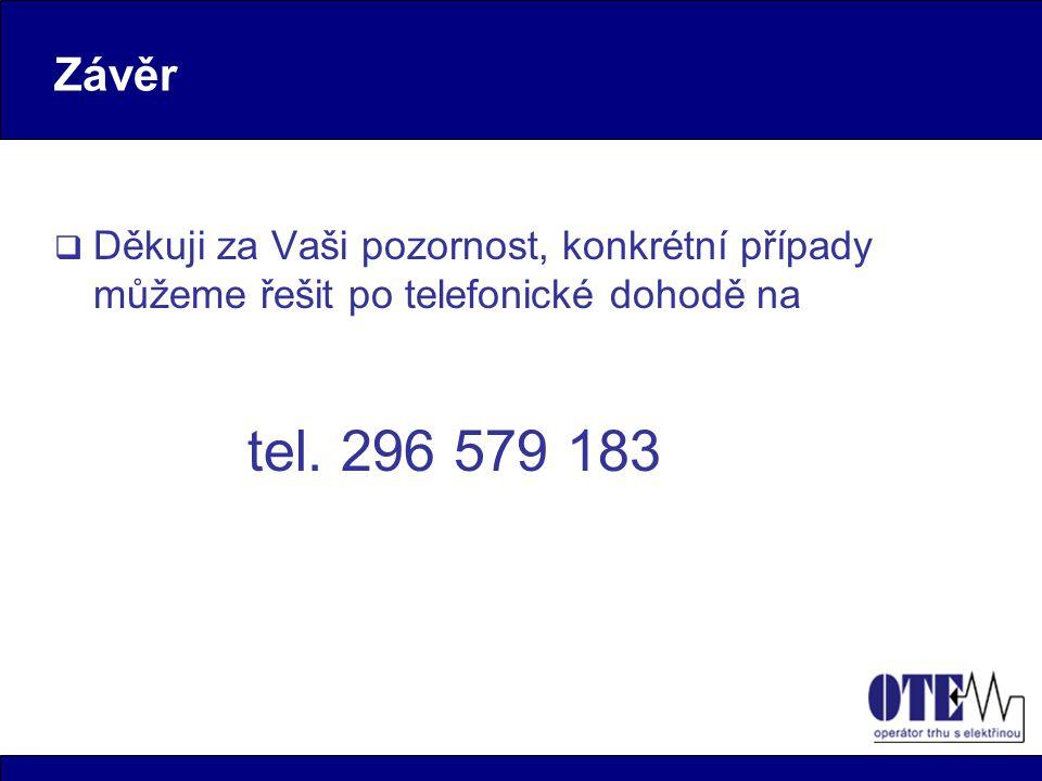 Závěr Děkuji za Vaši pozornost, konkrétní případy můžeme řešit po telefonické dohodě na.