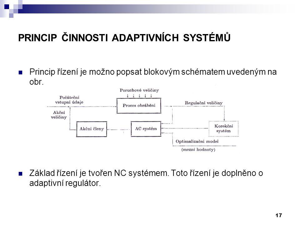 Princip činnosti adaptivních systémů