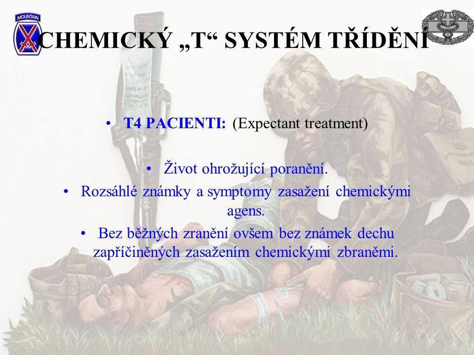 """CHEMICKÝ """"T SYSTÉM TŘÍDĚNÍ"""