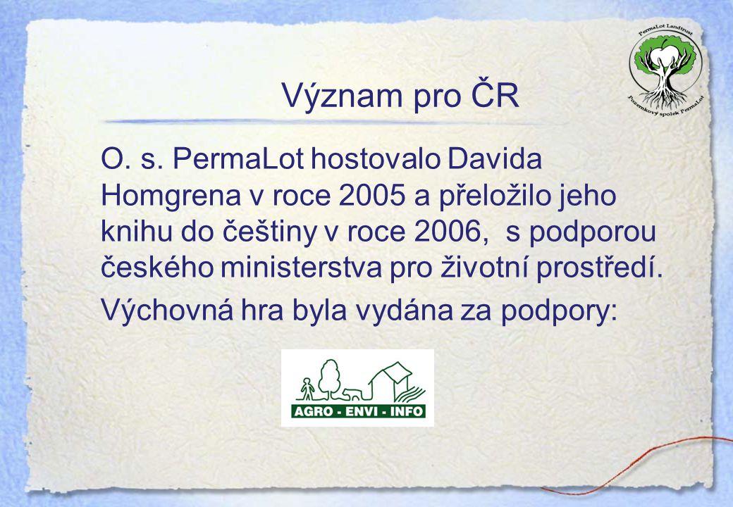 Význam pro ČR