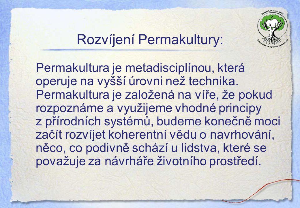 Rozvíjení Permakultury: