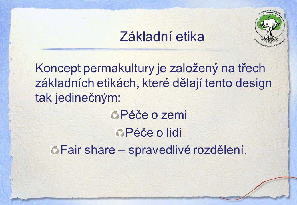 Fair share – spravedlivé rozdělení.