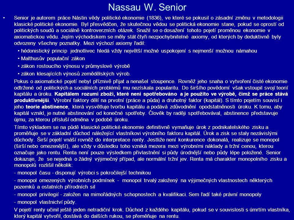 Nassau W. Senior