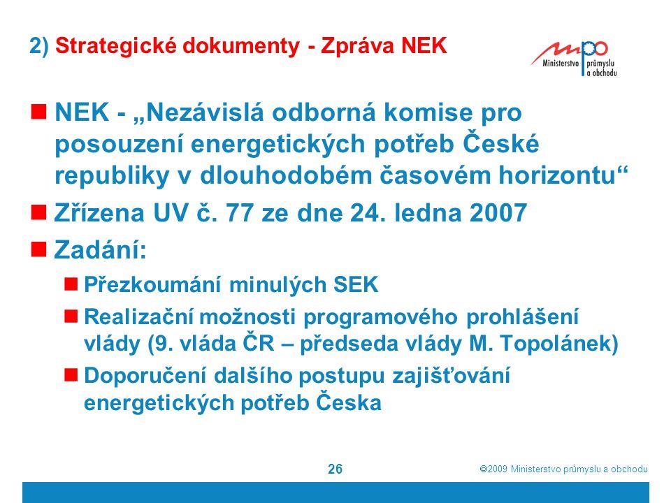 2) Strategické dokumenty - Zpráva NEK