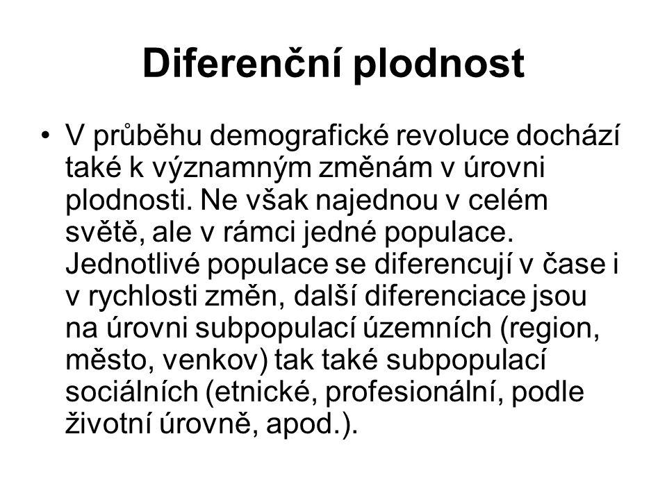 Diferenční plodnost