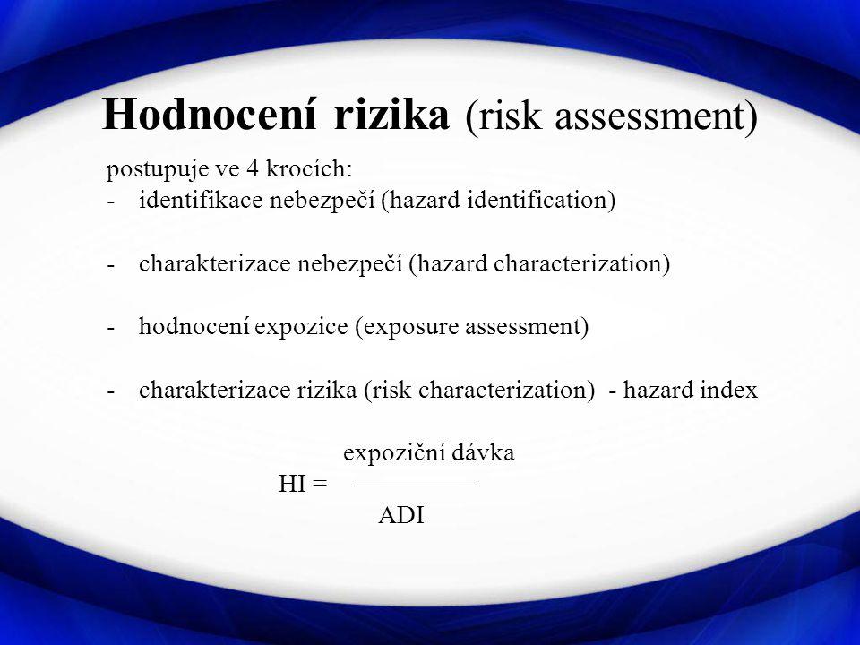 Hodnocení rizika (risk assessment)