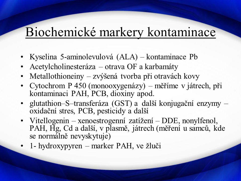 Biochemické markery kontaminace