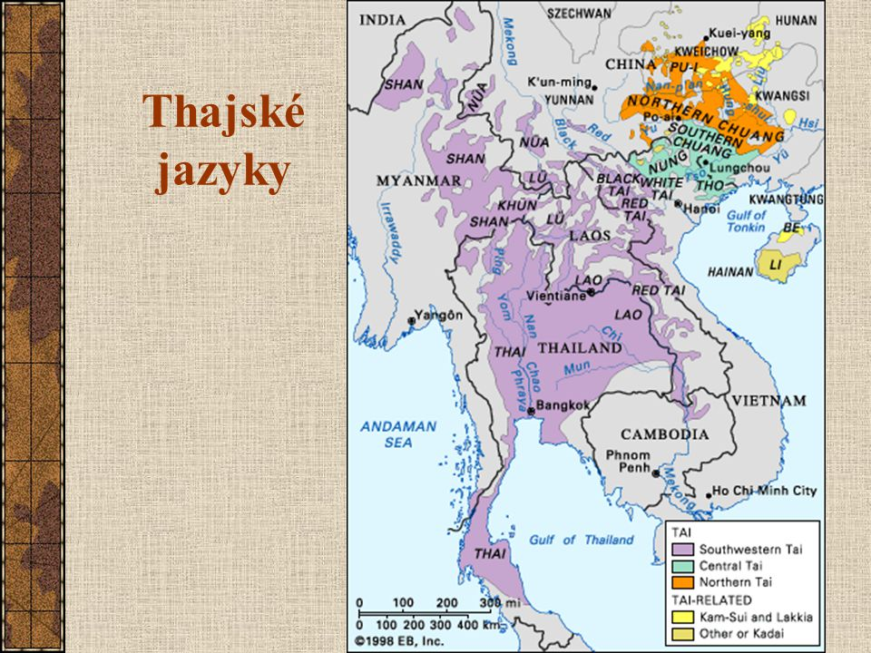 Thajské jazyky