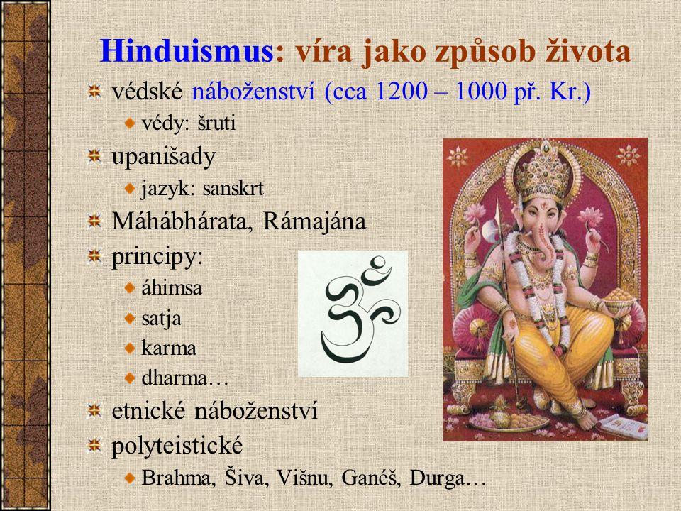 Hinduismus: víra jako způsob života
