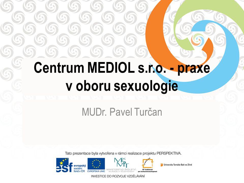 Centrum MEDIOL s.r.o. - praxe v oboru sexuologie