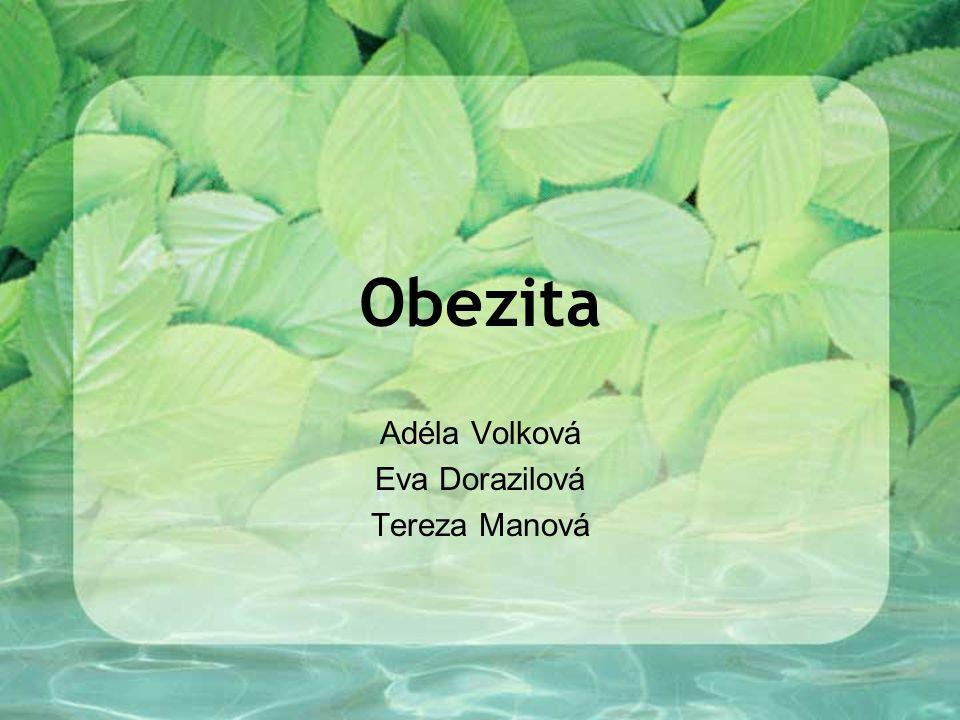 Adéla Volková Eva Dorazilová Tereza Manová