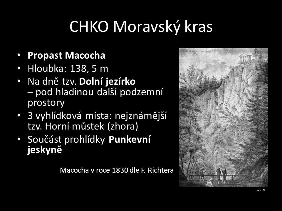CHKO Moravský kras Propast Macocha Hloubka: 138, 5 m