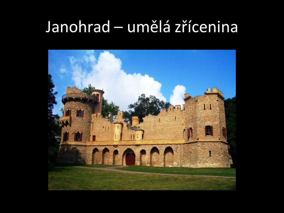 Janohrad – umělá zřícenina
