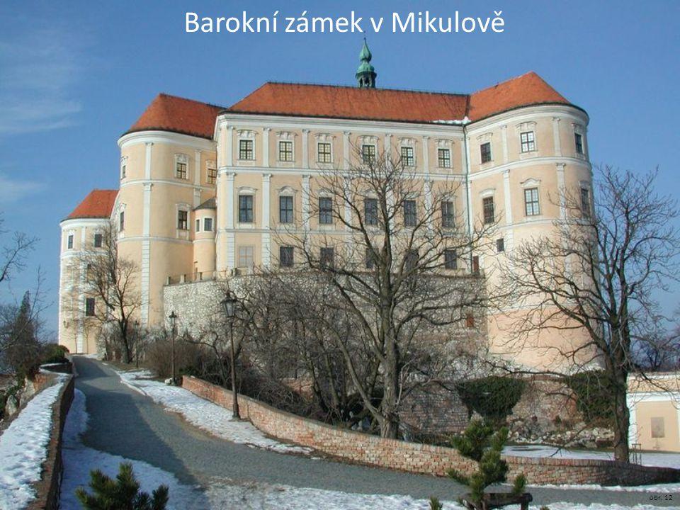 Barokní zámek v Mikulově